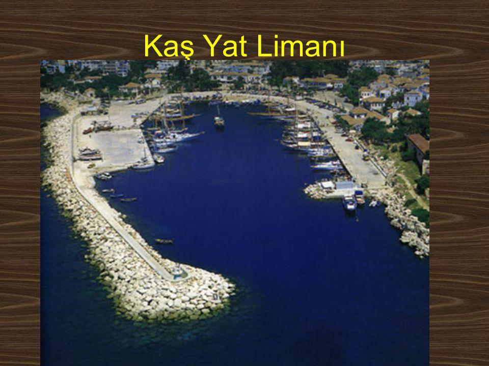 Kaş Yat Limanı www.yunusemrecosan.com