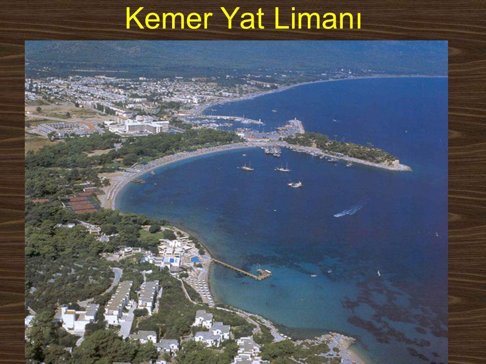 Kemer Yat Limanı www.yunusemrecosan.com