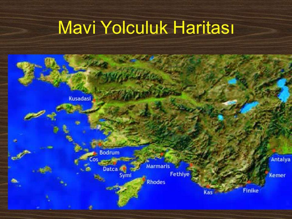 Mavi Yolculuk Haritası