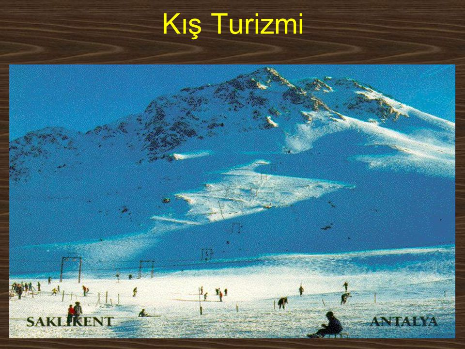Kış Turizmi www.yunusemrecosan.com