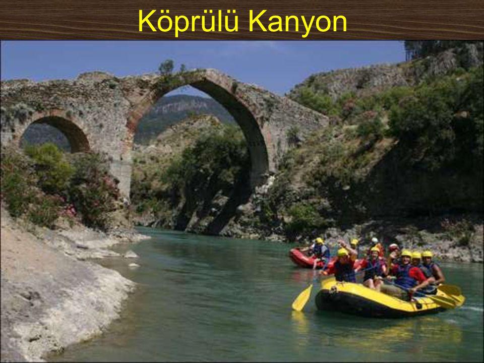 Köprülü Kanyon www.yunusemrecosan.com