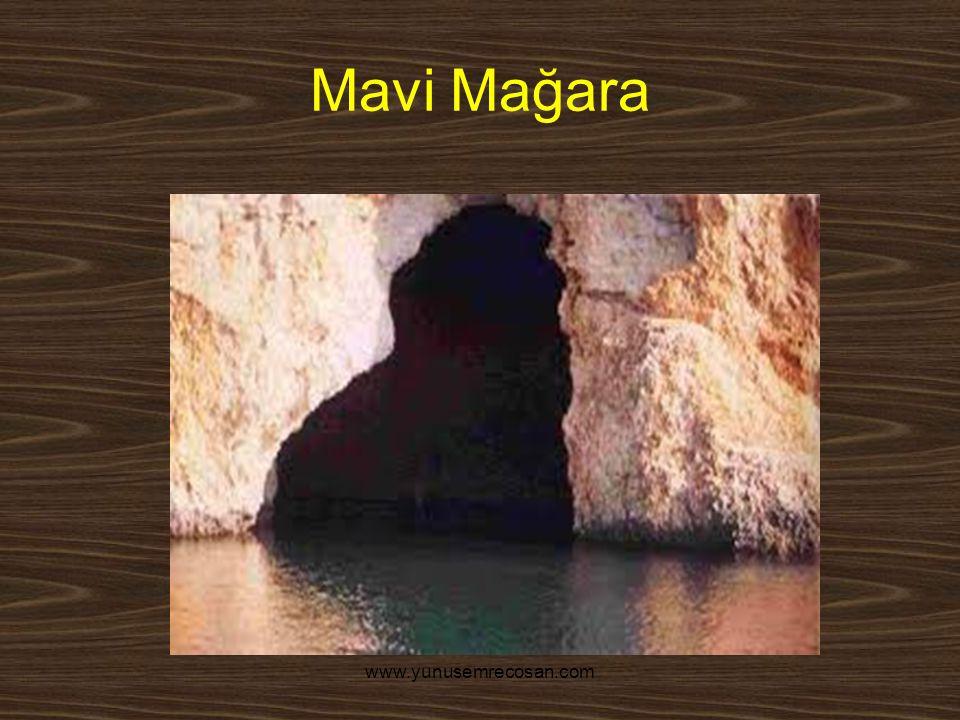 Mavi Mağara www.yunusemrecosan.com