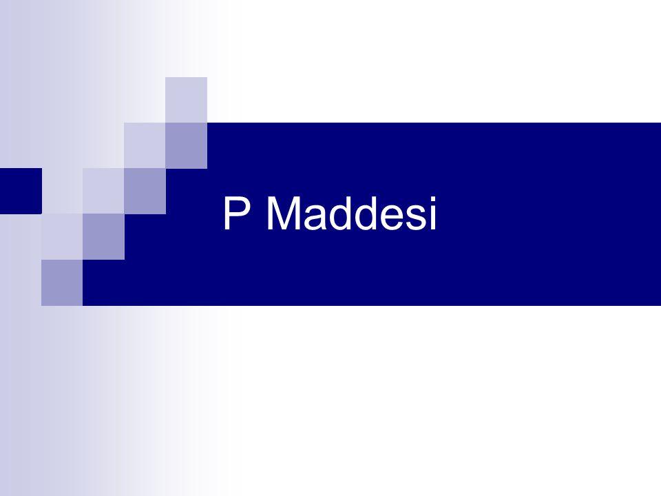 P Maddesi