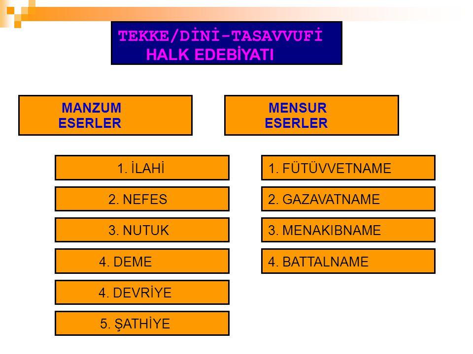 TEKKE/DİNİ-TASAVVUFİ