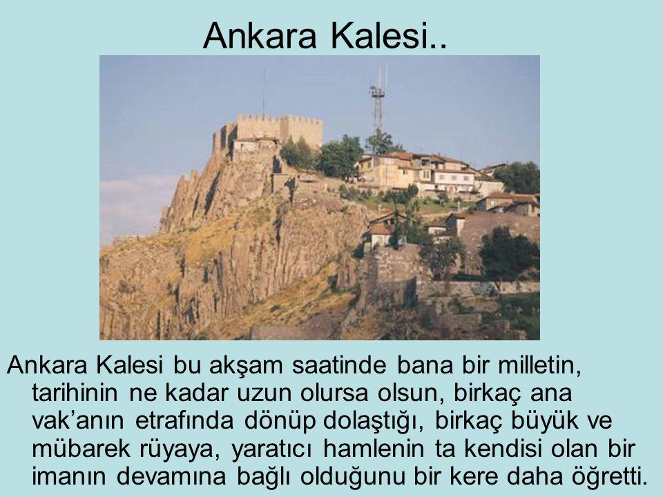 Ankara Kalesi..