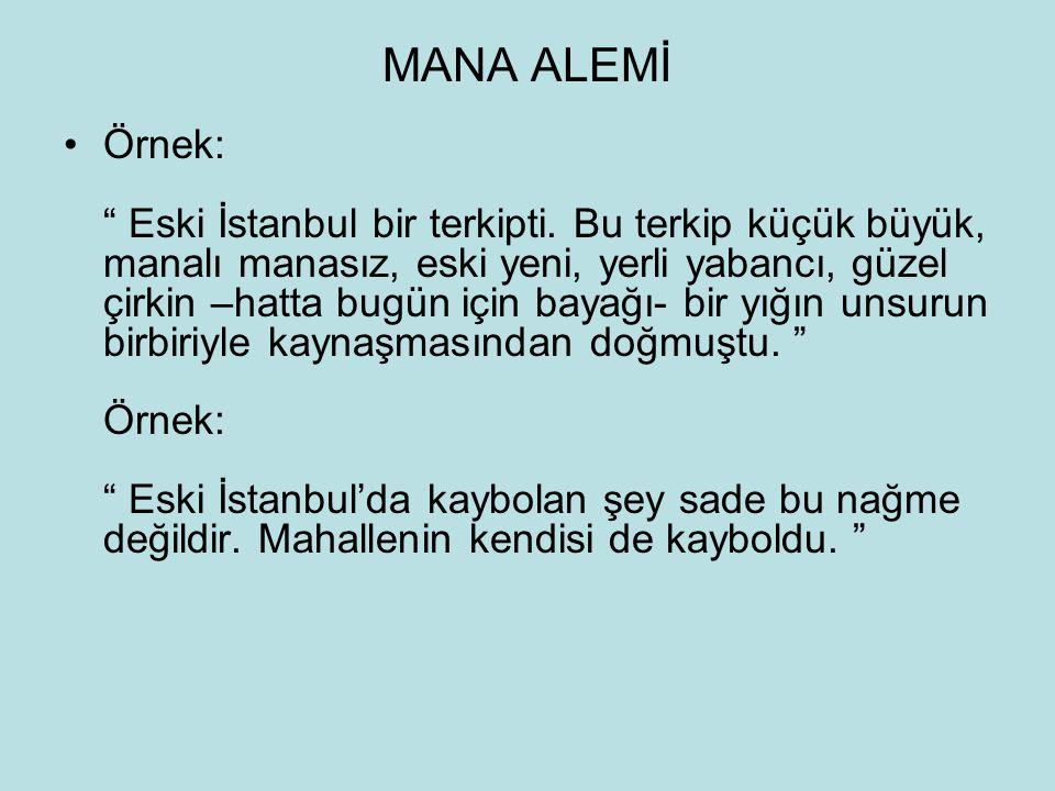 MANA ALEMİ