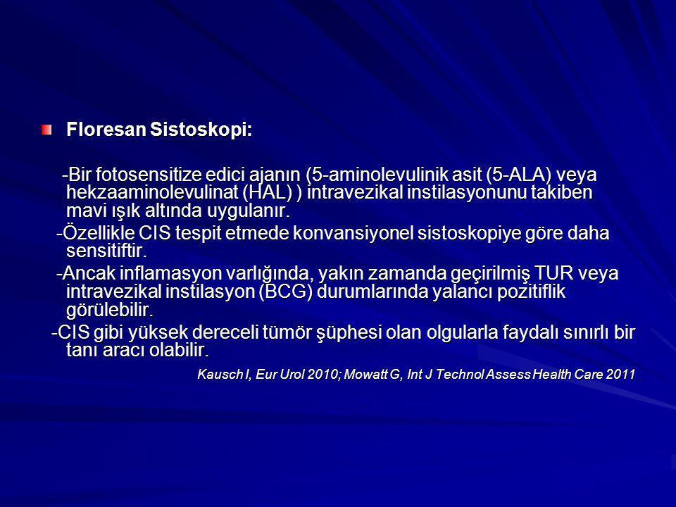 Floresan Sistoskopi:
