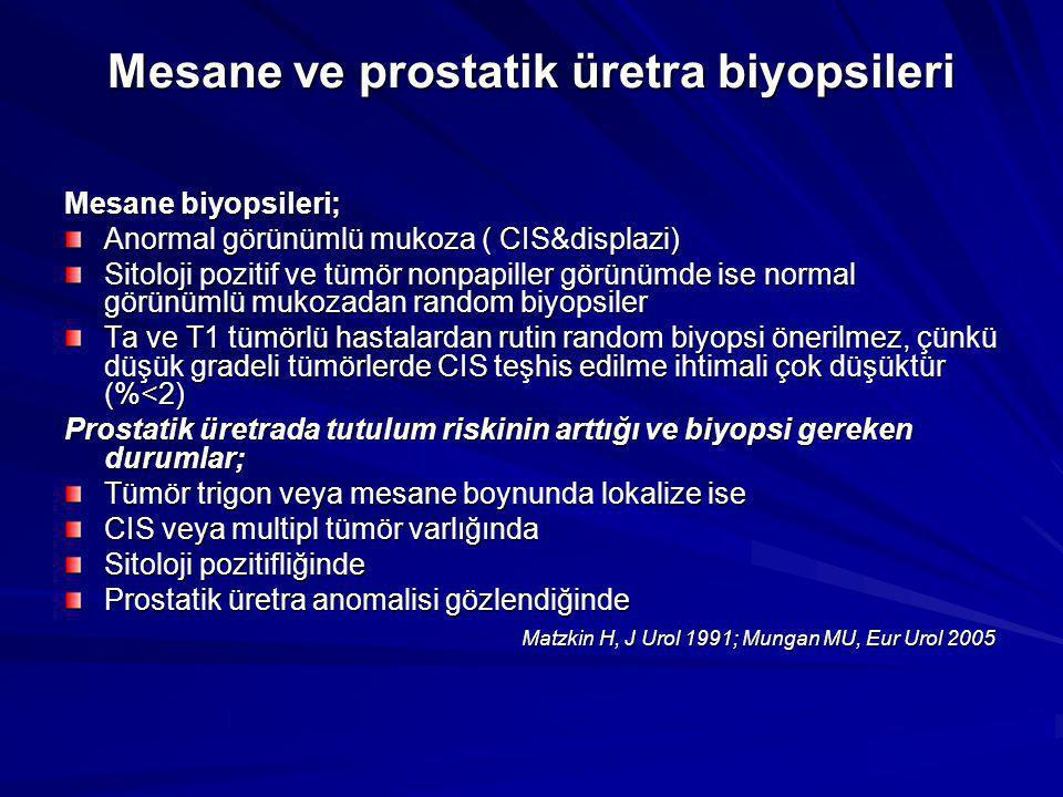 Mesane ve prostatik üretra biyopsileri