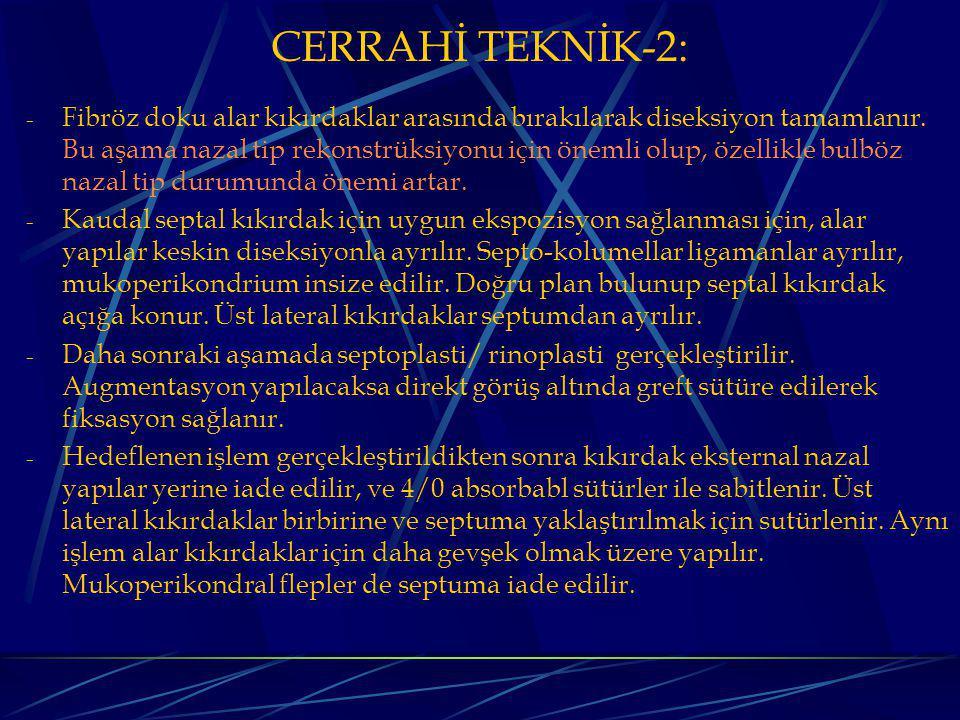 CERRAHİ TEKNİK-2:
