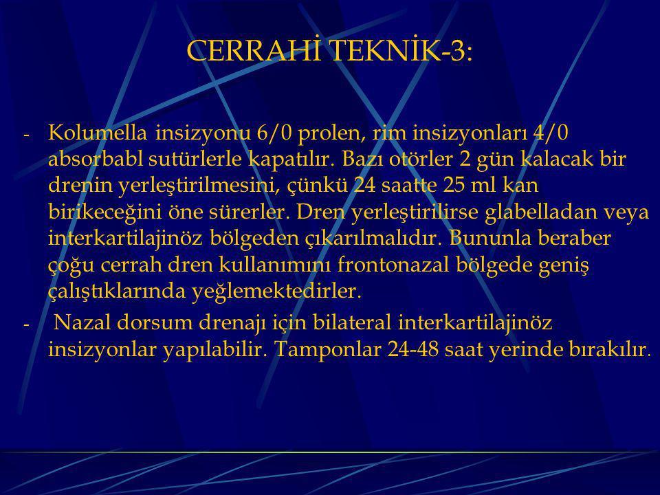 CERRAHİ TEKNİK-3:
