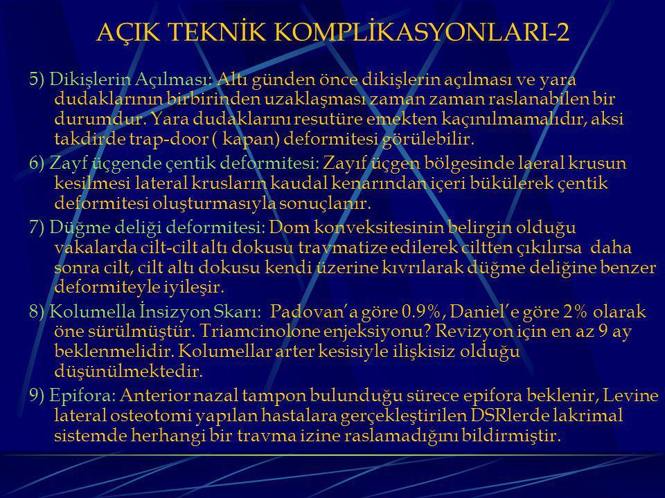 AÇIK TEKNİK KOMPLİKASYONLARI-2