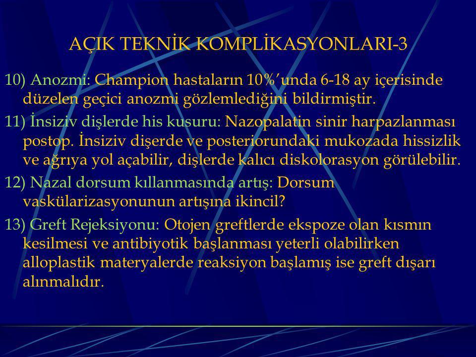 AÇIK TEKNİK KOMPLİKASYONLARI-3