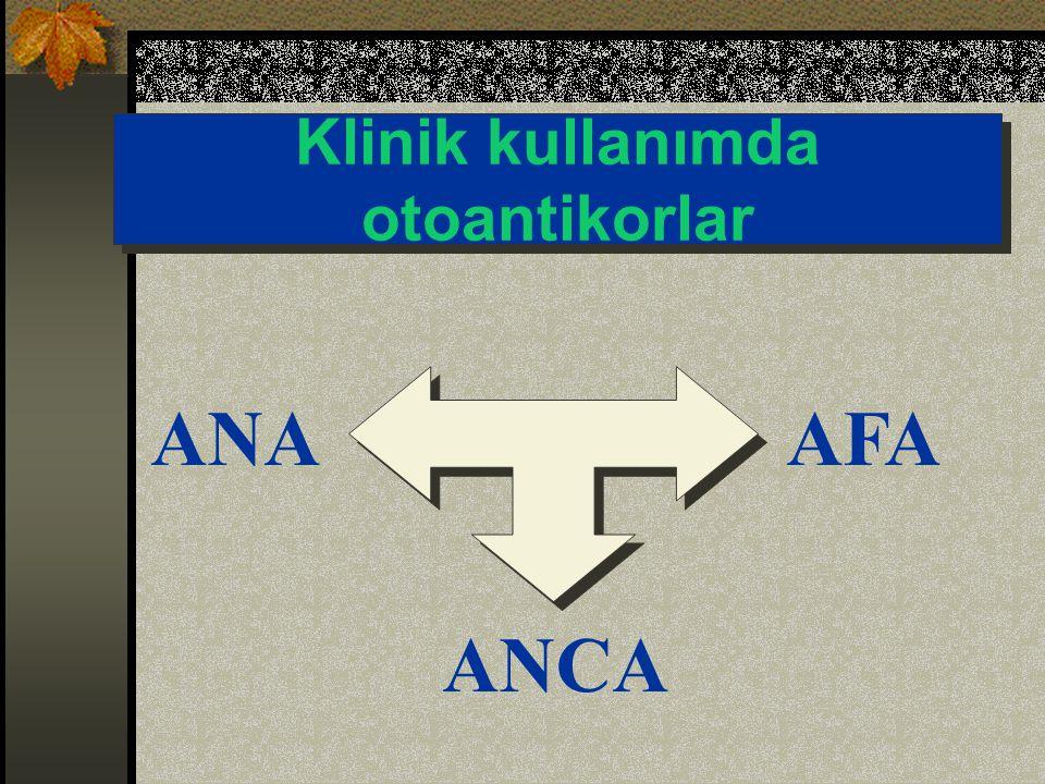 Klinik kullanımda otoantikorlar