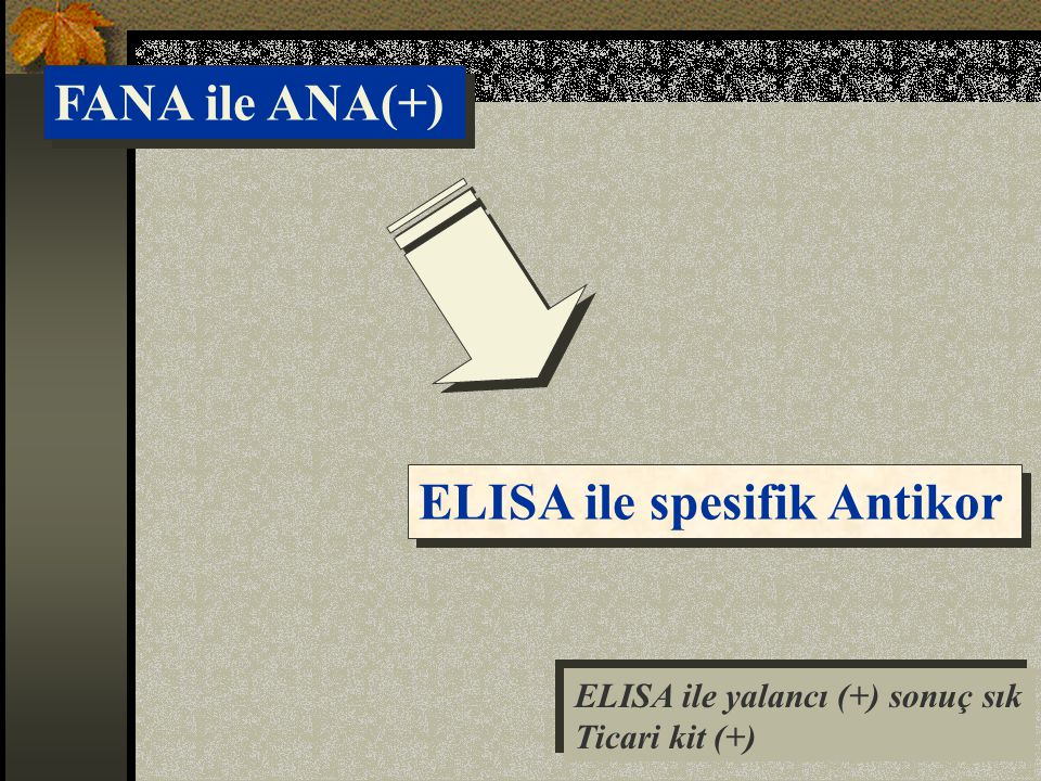 ELISA ile spesifik Antikor
