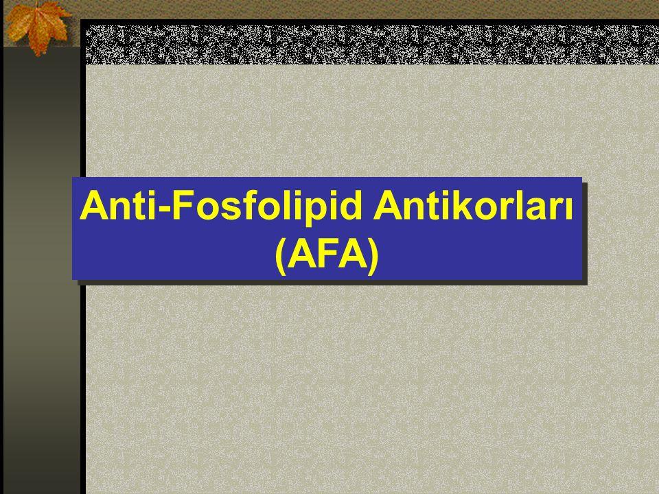 Anti-Fosfolipid Antikorları
