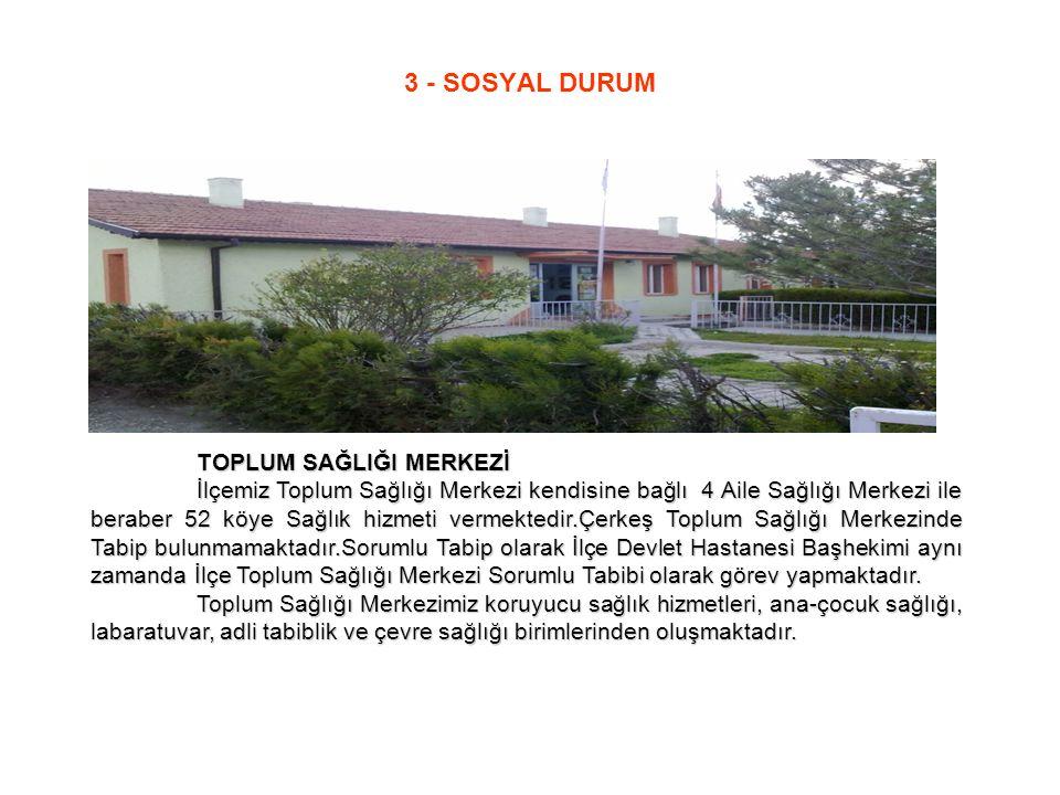 3 - SOSYAL DURUM TOPLUM SAĞLIĞI MERKEZİ