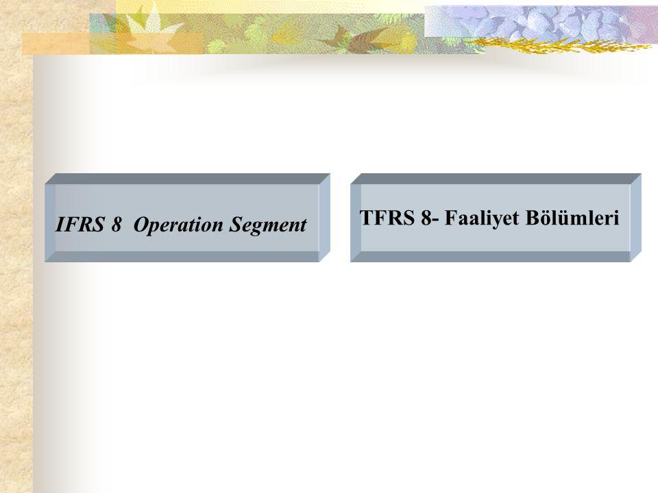 IFRS 8 Operation Segment