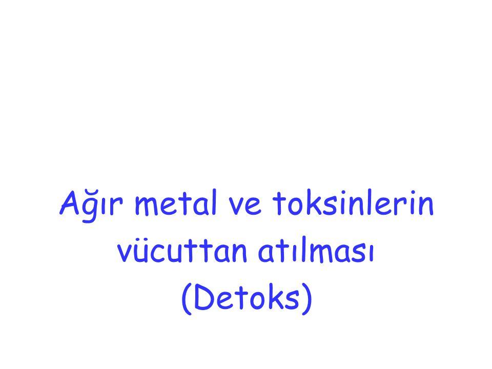 Ağır metal ve toksinlerin
