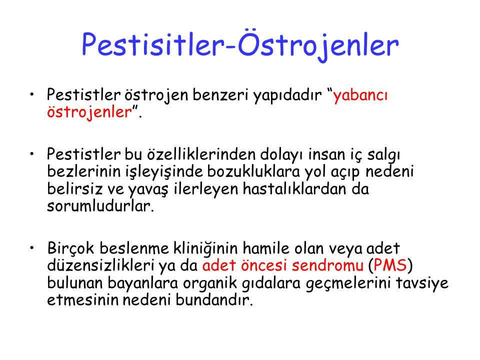 Pestisitler-Östrojenler