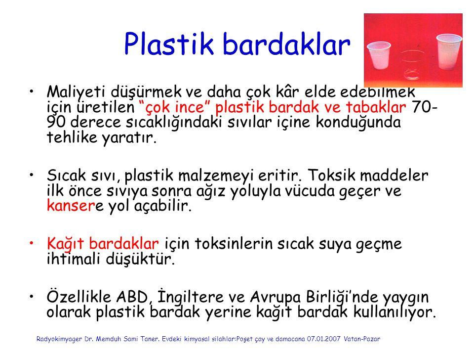 Plastik bardaklar