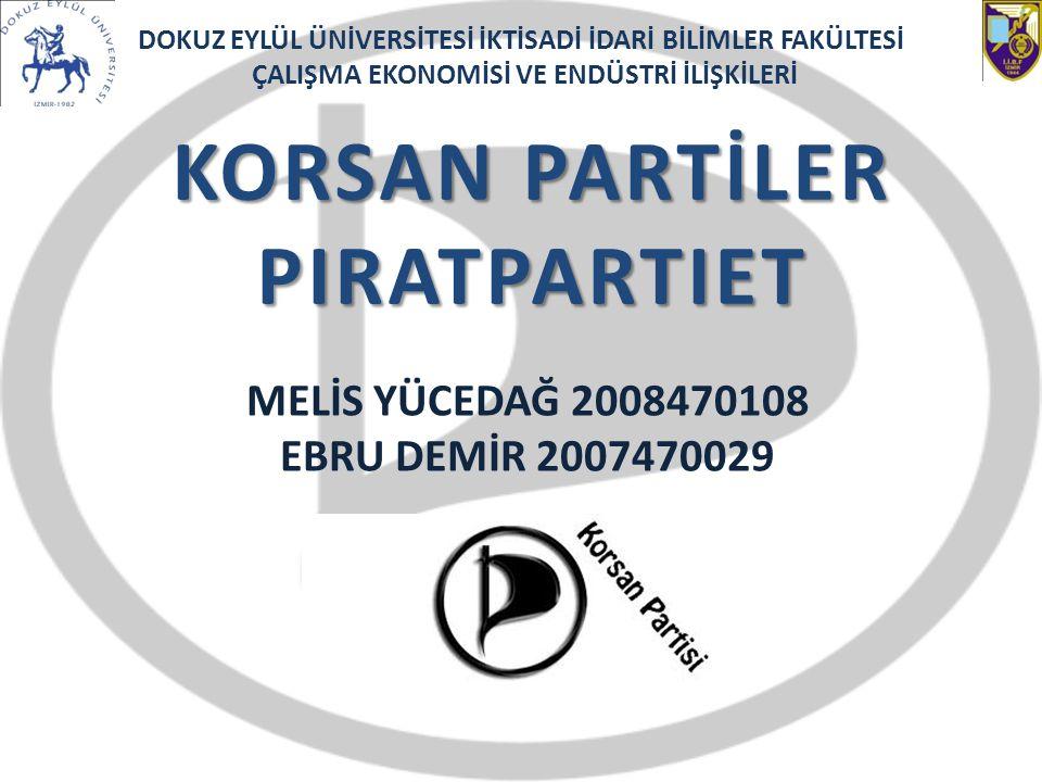 KORSAN PARTİLER PIRATPARTIET