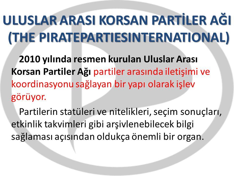ULUSLAR ARASI KORSAN PARTİLER AĞI (THE PIRATEPARTIESINTERNATIONAL)