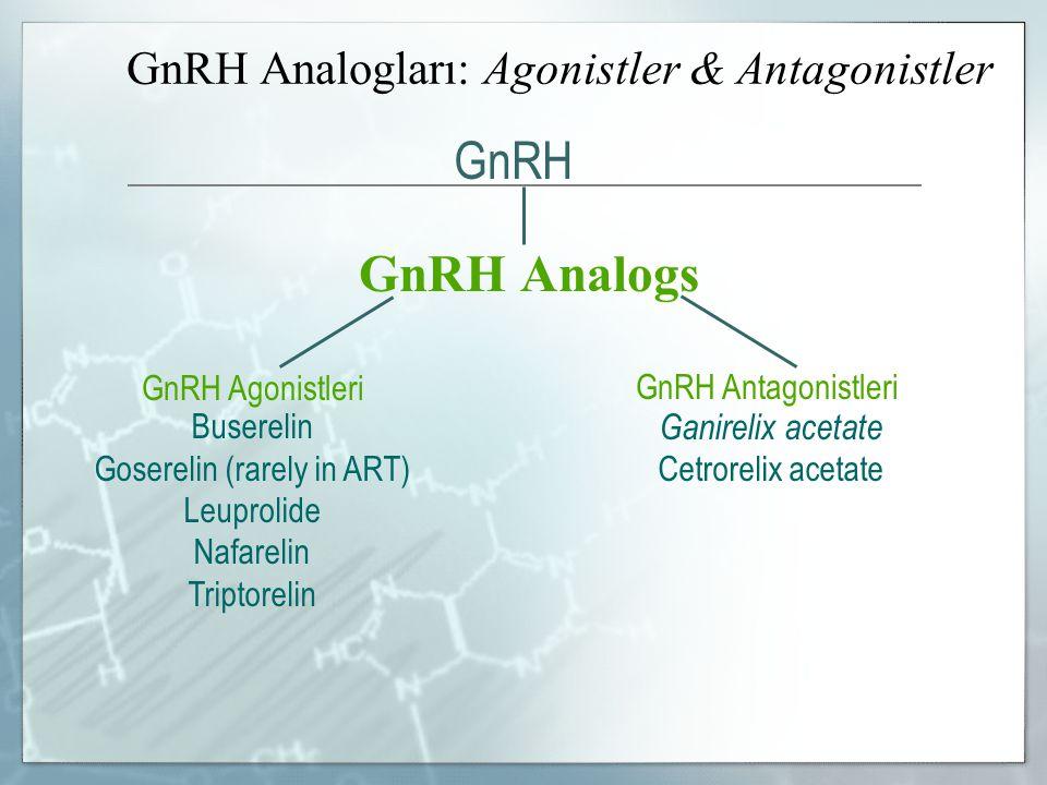 GnRH Analogları: Agonistler & Antagonistler