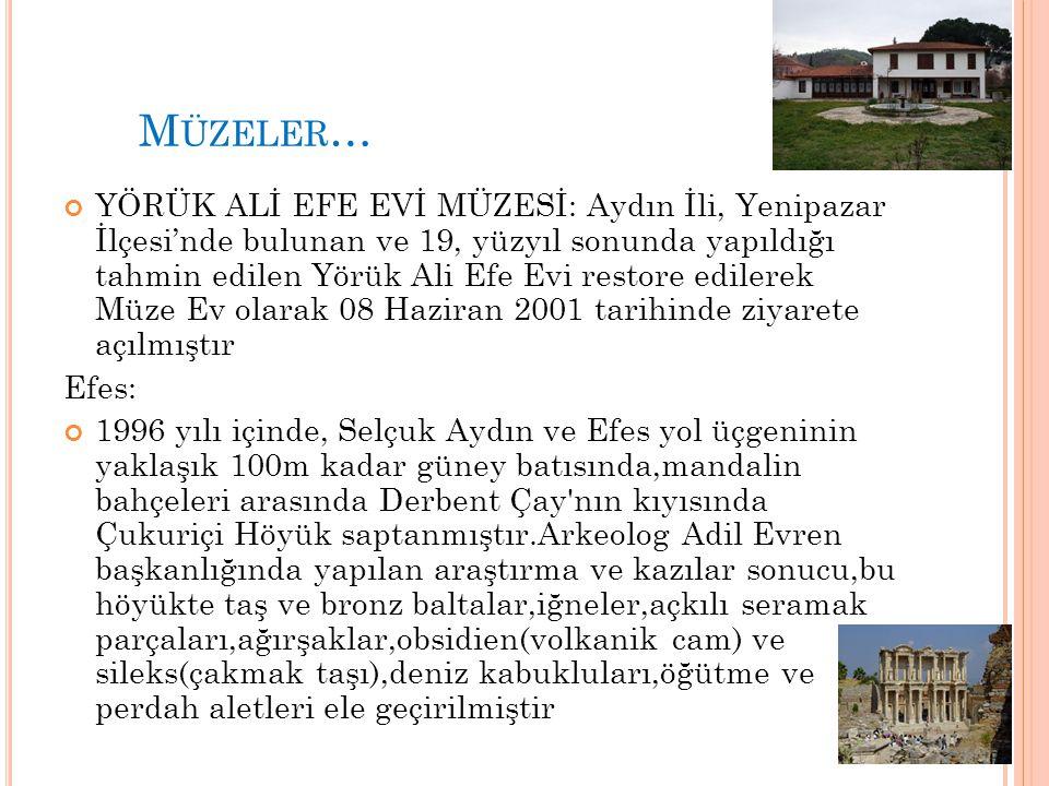 Müzeler…