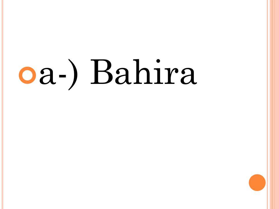 a-) Bahira