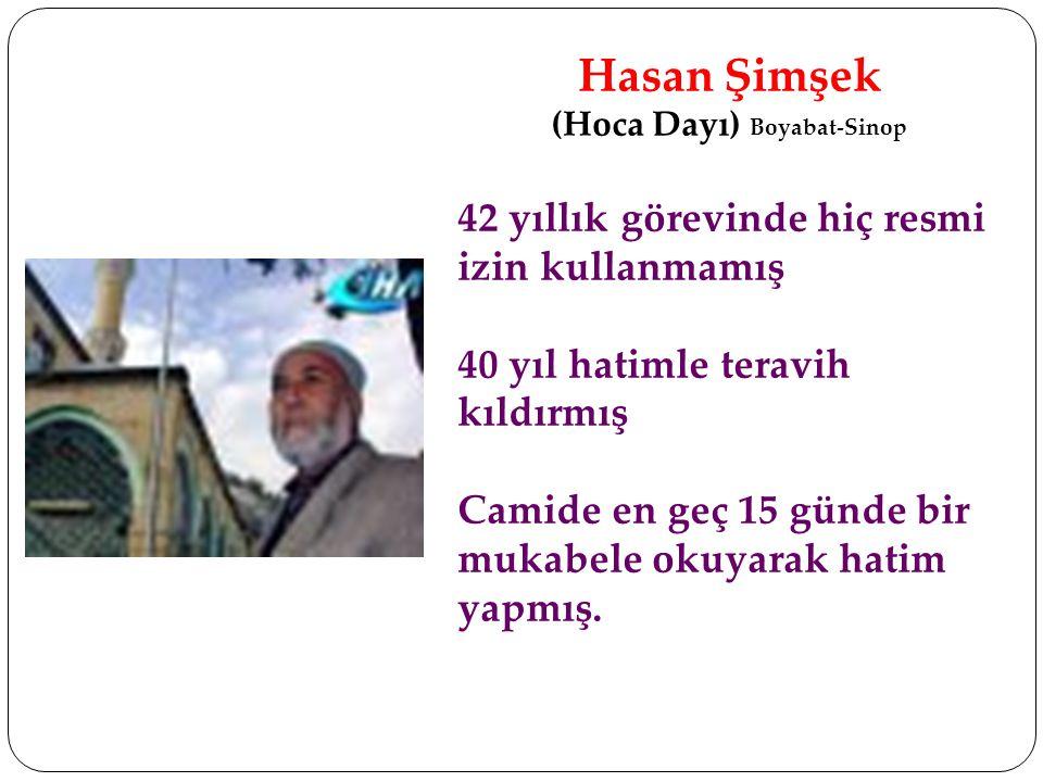 (Hoca Dayı) Boyabat-Sinop