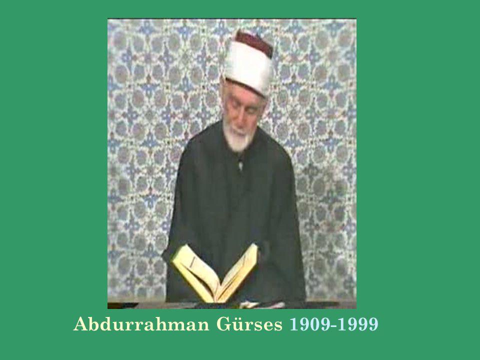 Abdurrahman Gürses 1909-1999