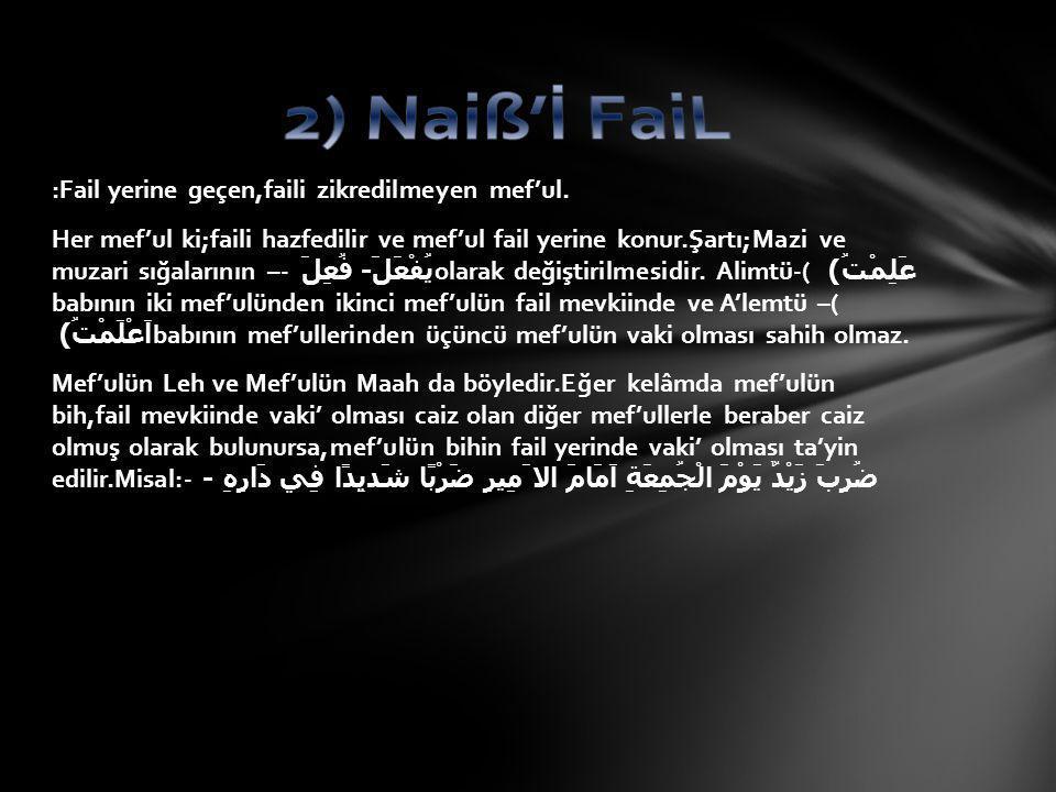 2) Naiß'İ FaiL