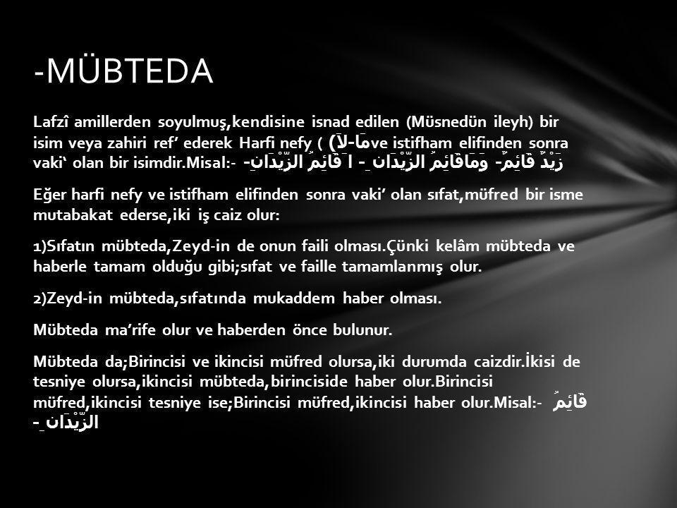 -MÜBTEDA