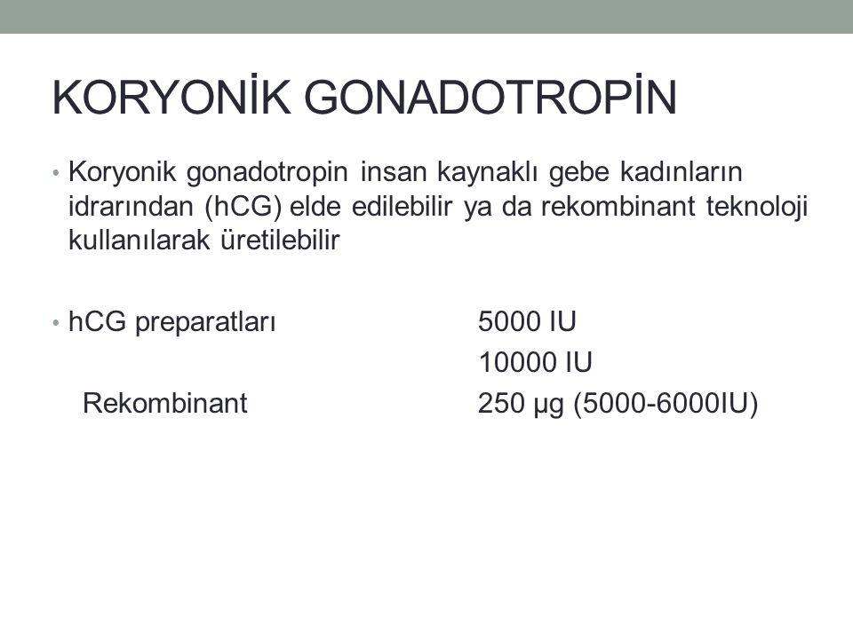 KORYONİK GONADOTROPİN