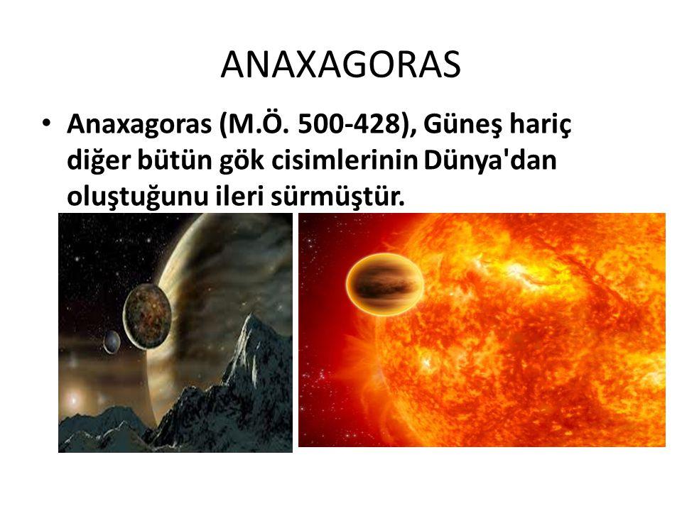 ANAXAGORAS Anaxagoras (M.Ö.