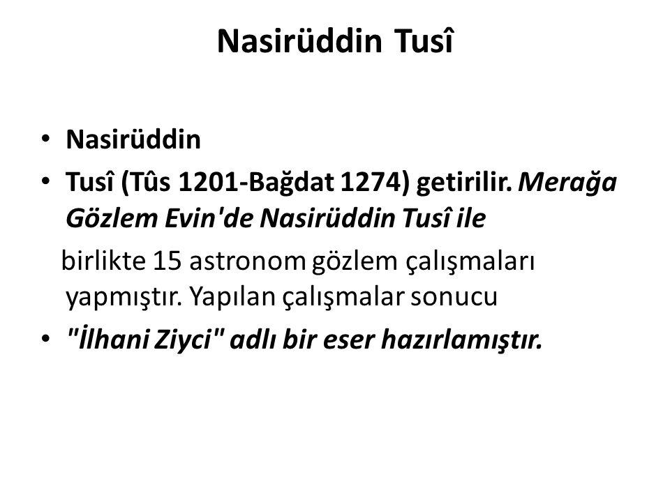 Nasirüddin Tusî Nasirüddin