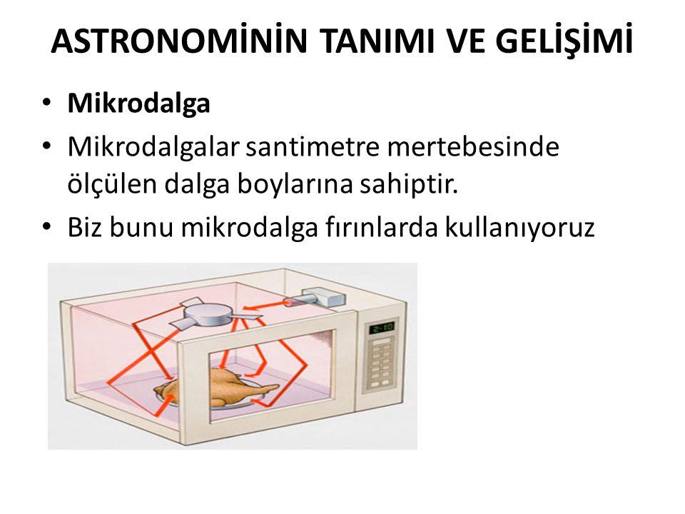 ASTRONOMİNİN TANIMI VE GELİŞİMİ