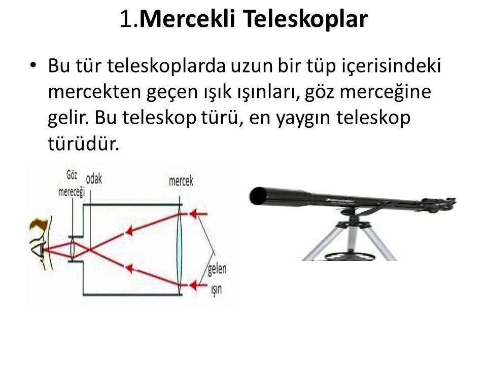 1.Mercekli Teleskoplar