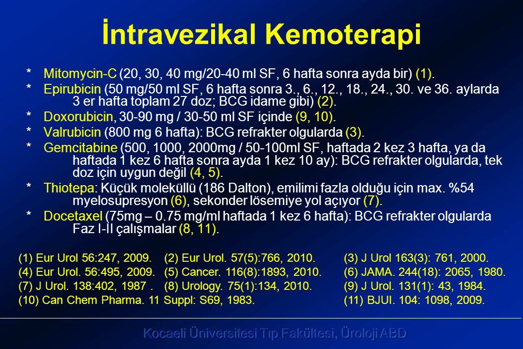 İntravezikal Kemoterapi