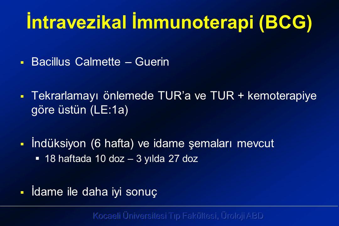 İntravezikal İmmunoterapi (BCG)