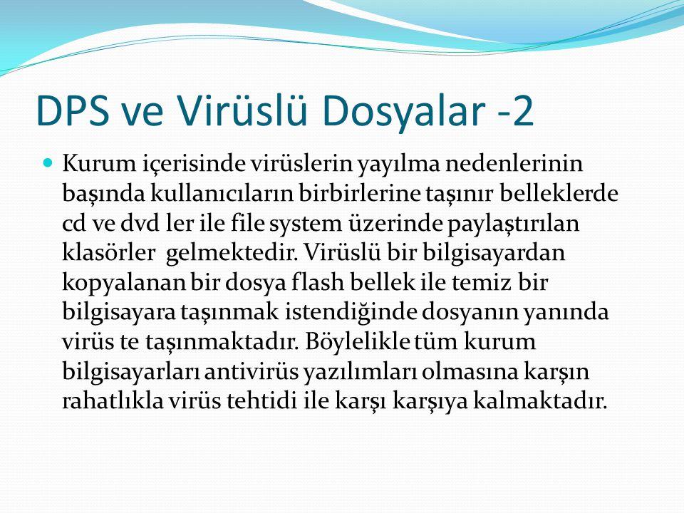 DPS ve Virüslü Dosyalar -2