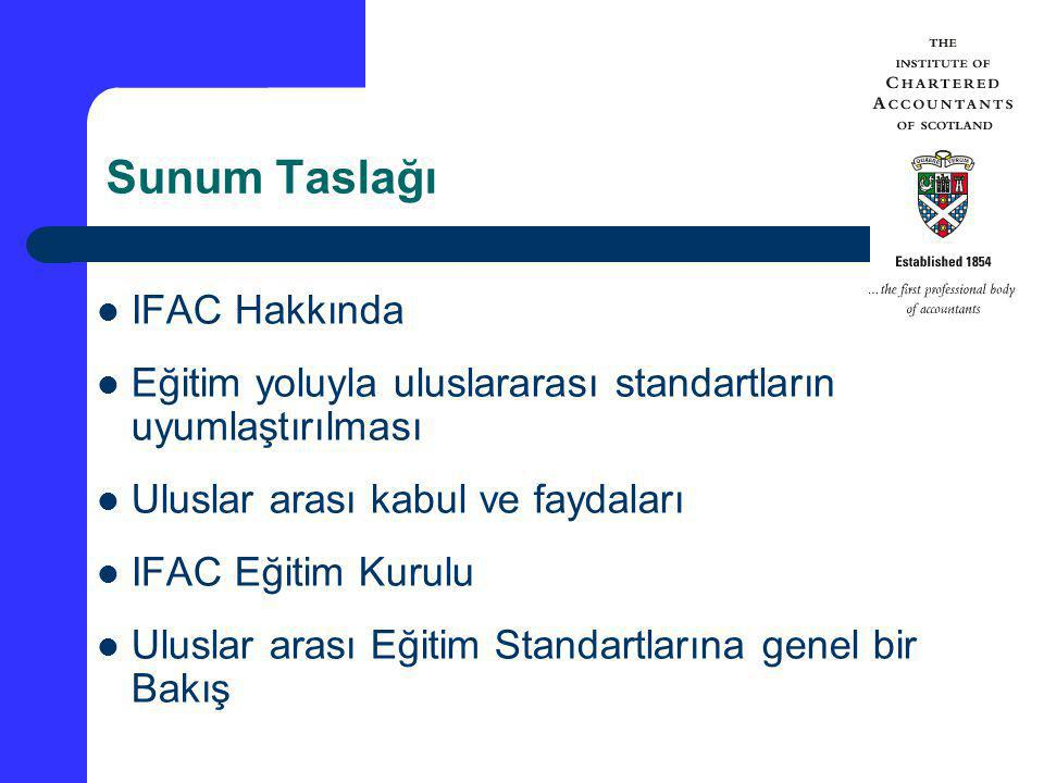 Sunum Taslağı IFAC Hakkında