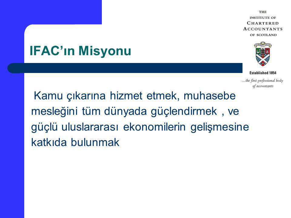 IFAC'ın Misyonu