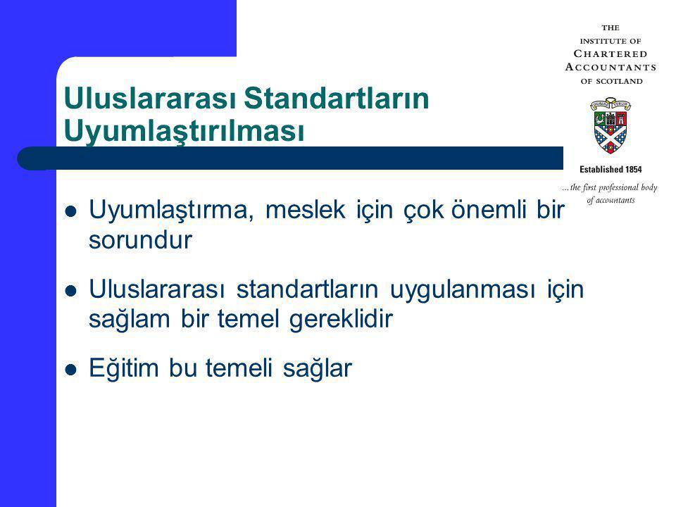 Uluslararası Standartların Uyumlaştırılması