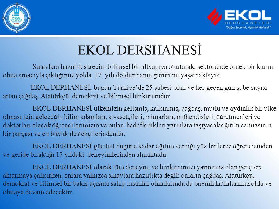 EKOL DERSHANESİ