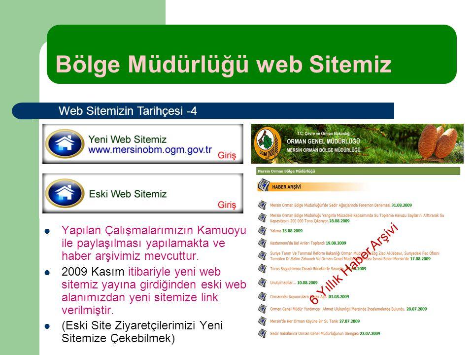 Bölge Müdürlüğü web Sitemiz