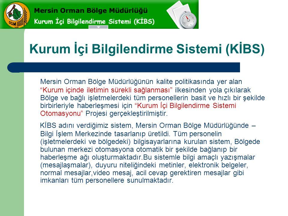 Kurum İçi Bilgilendirme Sistemi (KİBS)
