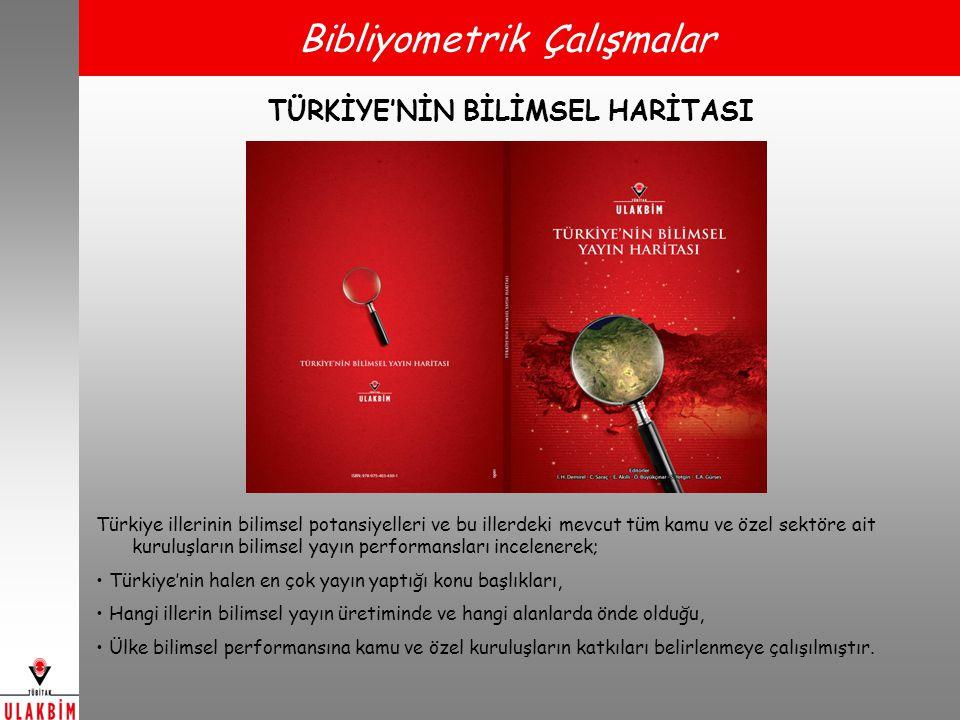 TÜRKİYE'NİN BİLİMSEL HARİTASI