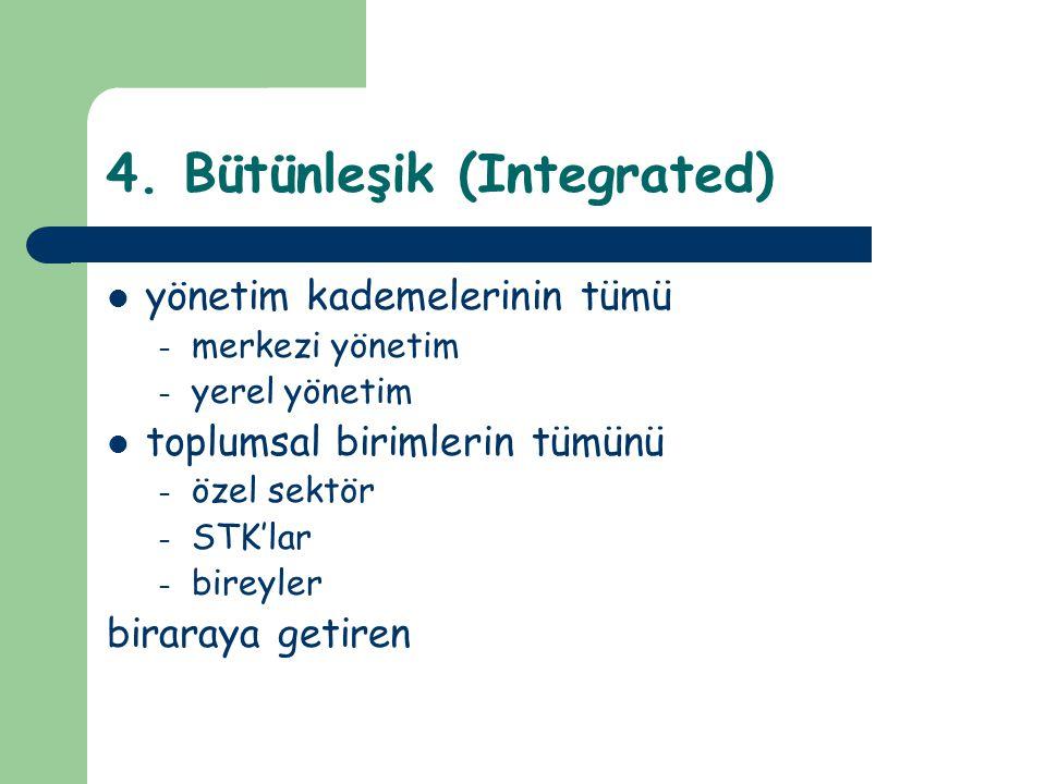 4. Bütünleşik (Integrated)
