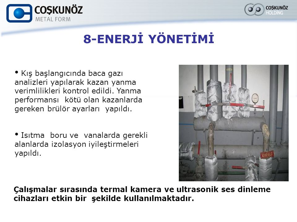 8-ENERJİ YÖNETİMİ